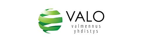 Valo Valmennus yhdistys - Logo